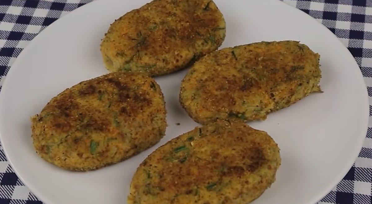 Прості і швидкі гречаники з картоплею