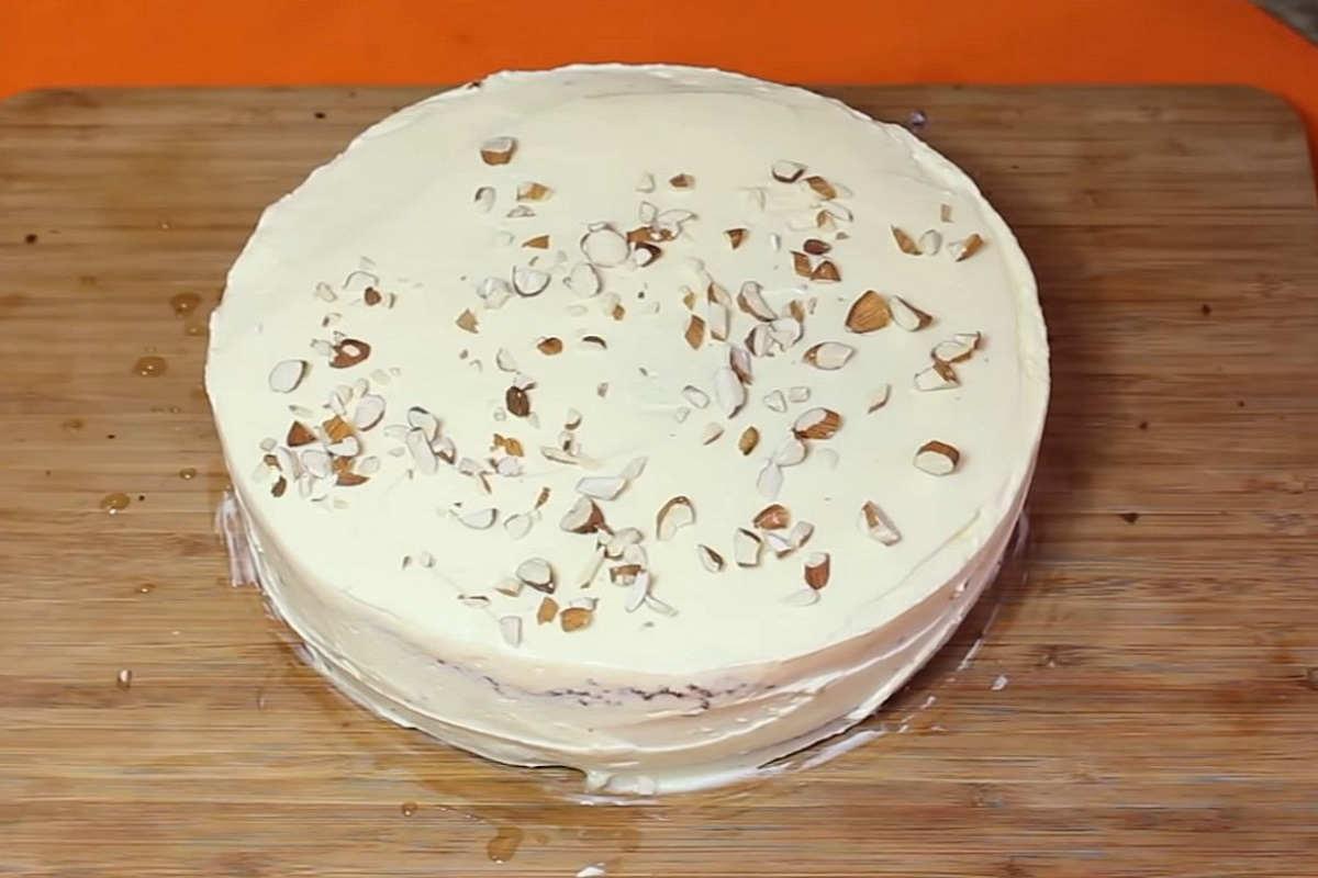 Швидкий торт в мікрохвильовці